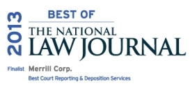 Merrill Corp Voted Court Reporting