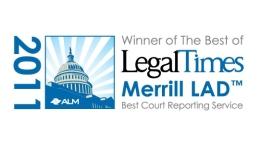 Merrill LAD Legal Times Win 2011